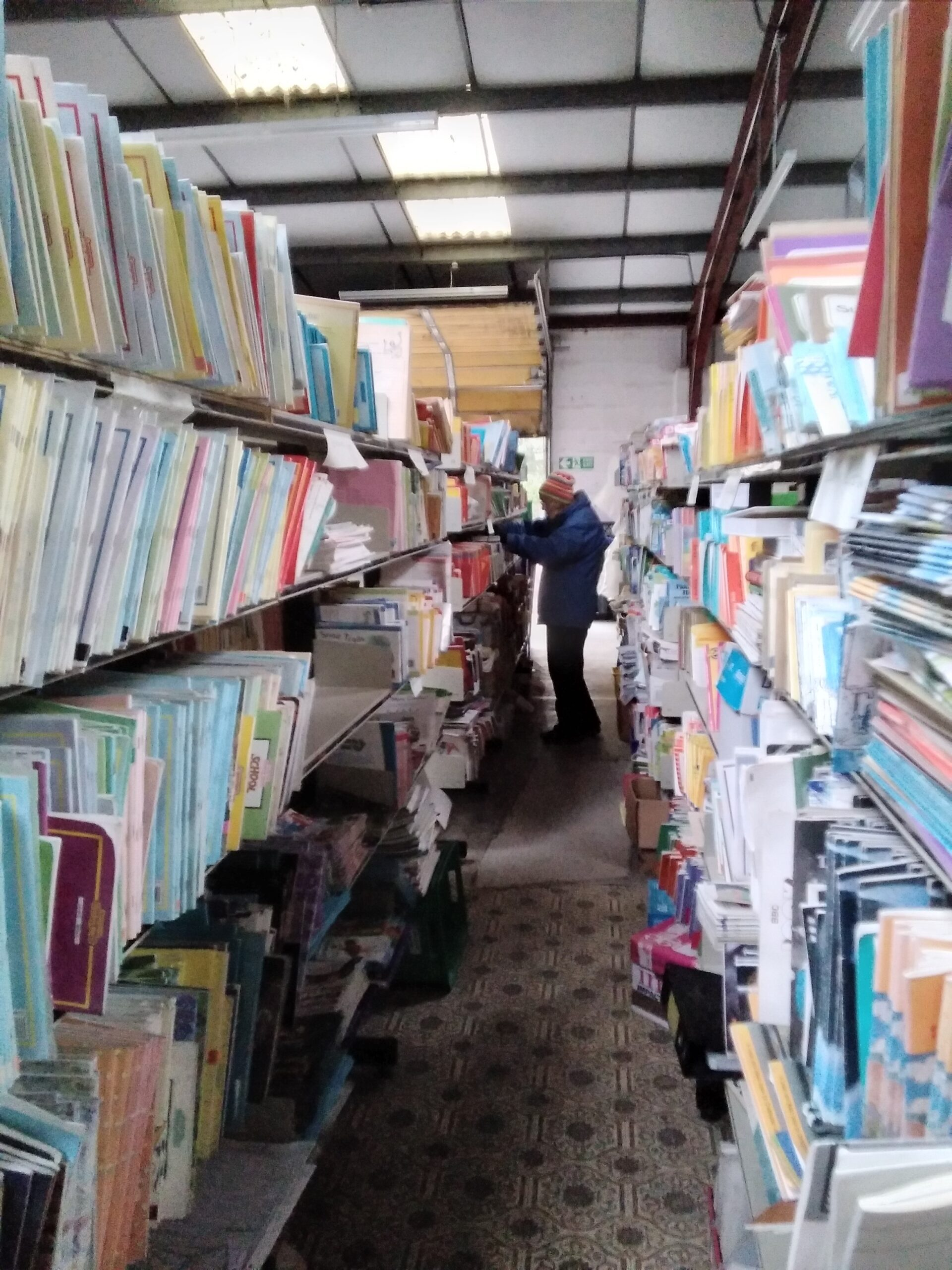 Sorting out books